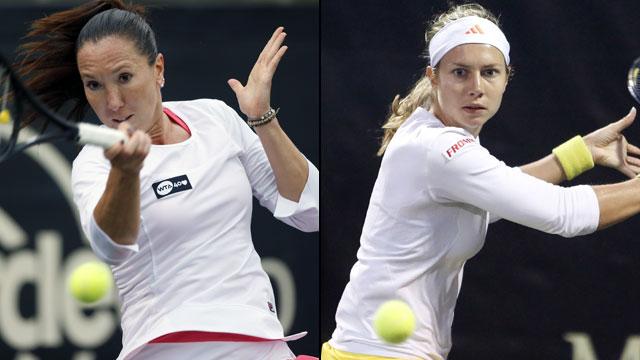 Jelena Jankovic (SRB) vs. Stefanie Voegele (SUI) (Semifinal #2)