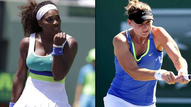 Serena Williams (USA) vs. Mallory Burdette (USA) (Round of 16)