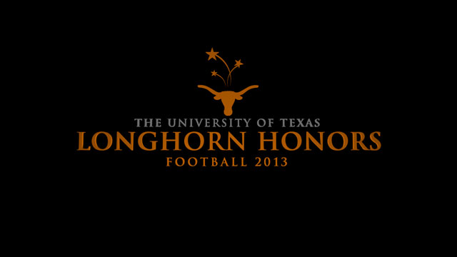 Longhorn Honors: Football 2013