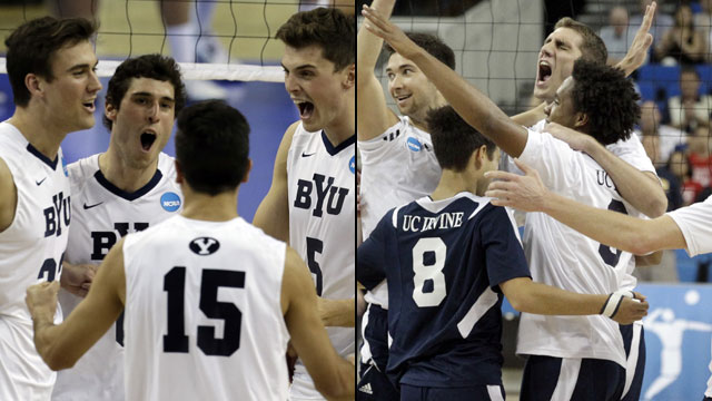 #1 UC Irvine vs. #2 Brigham Young (Championship): 2013 NCAA Men's Volleyball Championship 