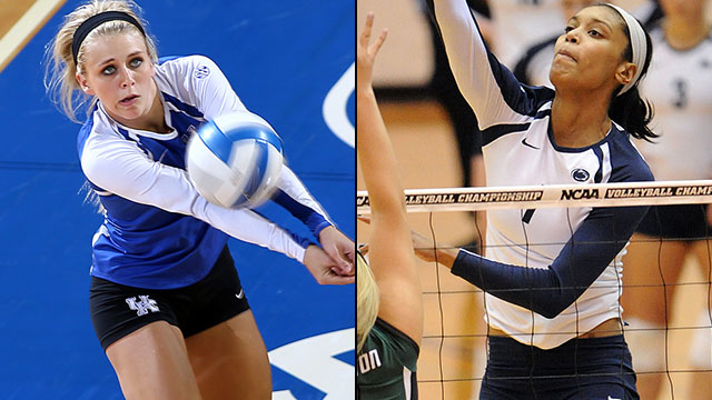 #16 Kentucky vs. #1 Penn State (Regional Semifinal #1): NCAA Women's Volleyball Championship