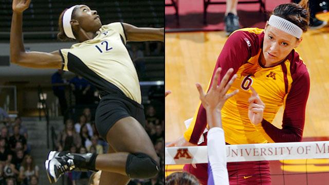 Purdue vs. #8 Minnesota (Regional Semifinal #2): NCAA Women's Volleyball Championship