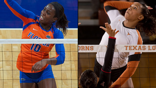 #14 Florida vs. #3 Texas (Regional Semifinal #2): NCAA Women's Volleyball Championship