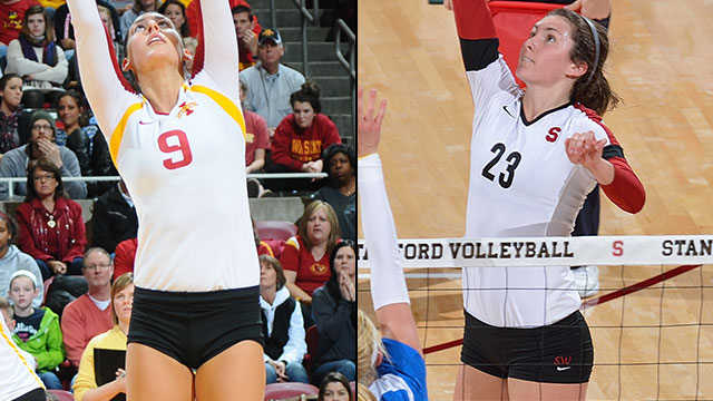 #15 Iowa State vs. #2 Stanford (Regional Semifinal #2): NCAA Women's Volleyball Championship