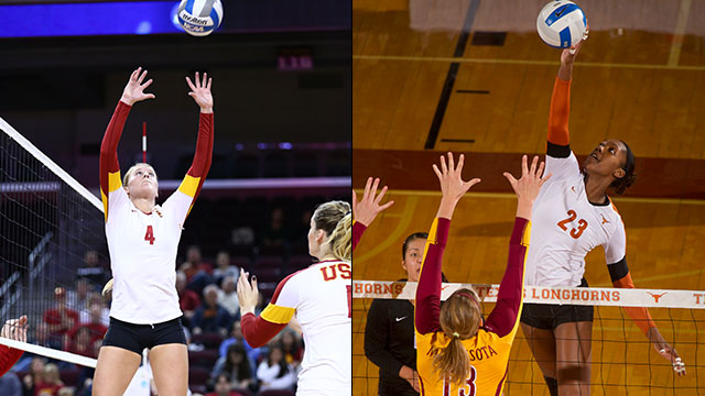 #6 USC vs. #3 Texas (Regional Final): NCAA Women's Volleyball Championship