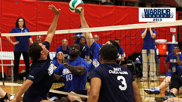 2013 Warrior Games: Gold Medal Sitting Volleyball Game