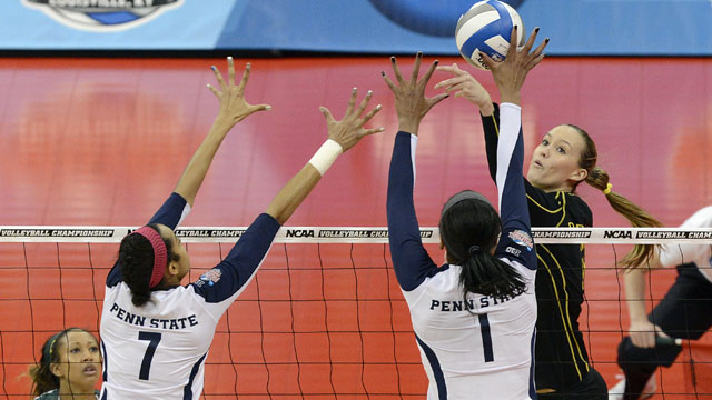 #5 Oregon vs. #1 Penn State (Semifinal #2): NCAA Women's Volleyball Championship