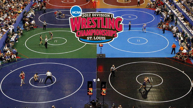 NCAA Division I Wrestling Championships presented by Enterprise Rent-A-Car (Session 1 - Mat 3)