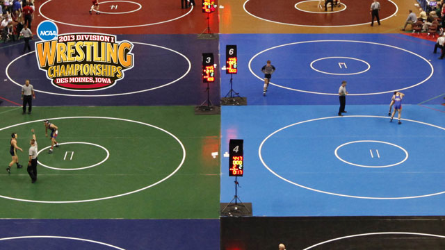 NCAA Wrestling Championships presented by Northwestern Mutual (Session 1 - Mat 4)