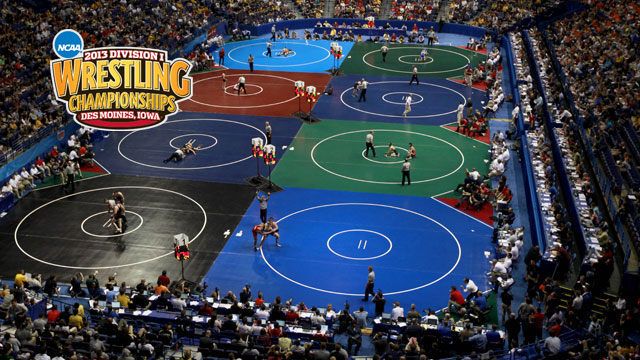 NCAA Wrestling Championships presented by Northwestern Mutual (Quarterfinals - Mat 3)