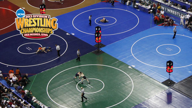NCAA Wrestling Championships presented by Northwestern Mutual (Quarterfinals - Mat 5)