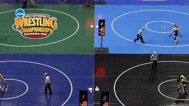 NCAA Wrestling Championships presented by Northwestern Mutual (Quarterfinals - Mat 6)