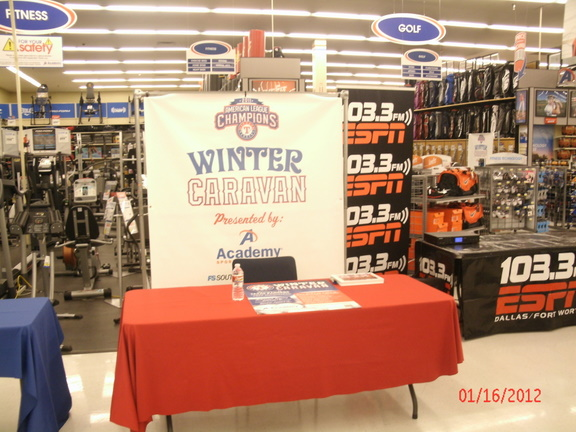 2012 Rangers Winter Caravan