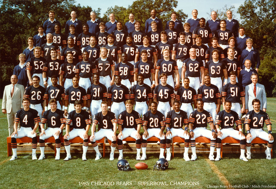 san francisco 71181 1b3cf Remembering the 1985 Chicago Bears - ESPN Chicago