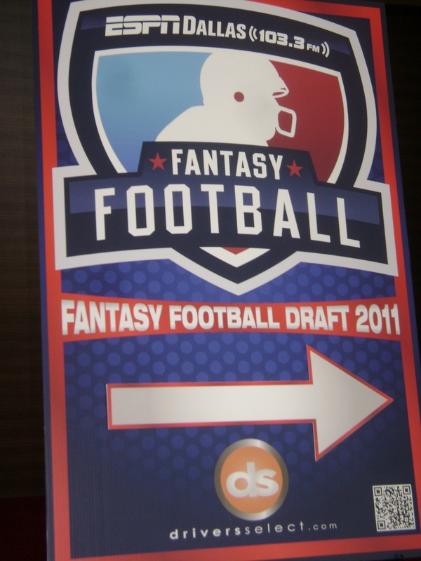 2011 Fantasy Football Draft
