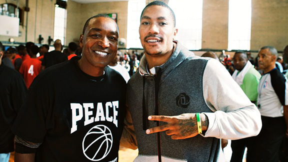 Isiah Thomas, Derrick Rose