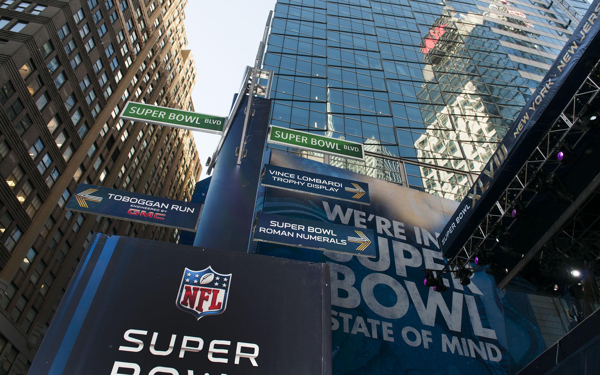 Super Bowl Boulevard