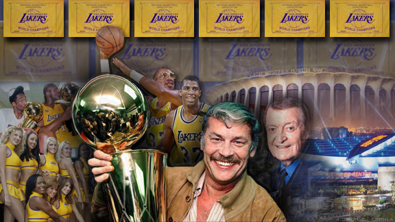 Jerry Buss Collage