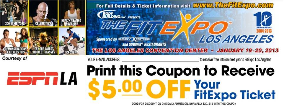 Coupons la fitness
