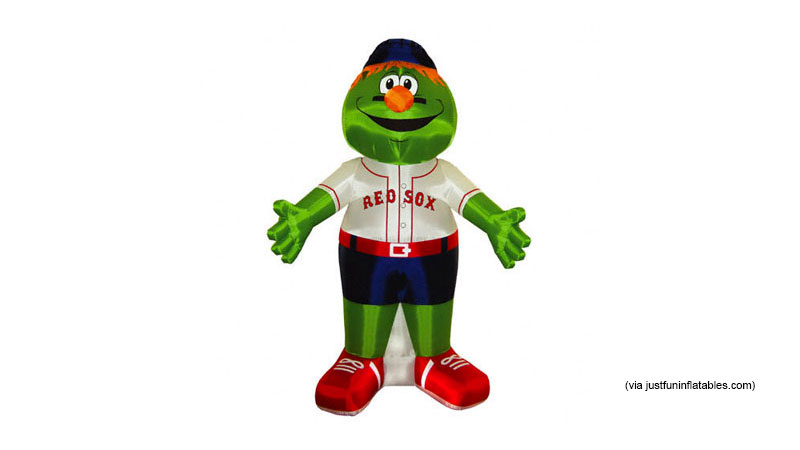Inflatable Player Mascot (119.95, FANATICS.com)