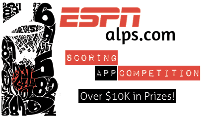 ESPN Live Scoring   Developer Contest for $10k