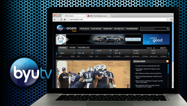 ESPN provides BYU Cougars scores on BYUTV Sports