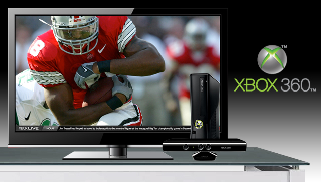 WatchESPN, scores and more on XBox360