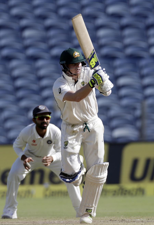 1st Test, Australia tour of India at Pune, Feb 23-25 2017 ...