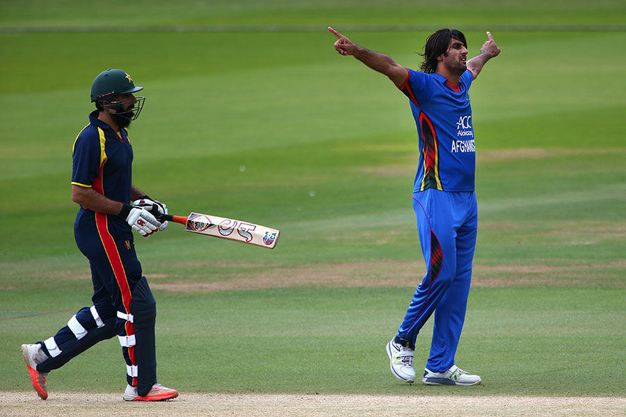 Afghanistan tour of England at London, Jul 11 2017   Match ...