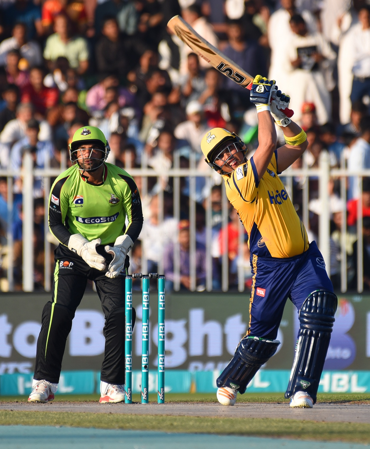 29th Match (D/N), Pakistan Super League At Sharjah, Mar 16