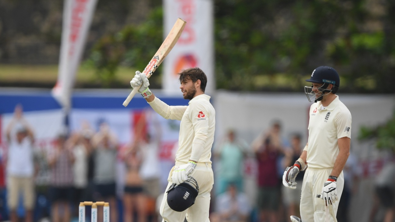 Ben Foakes played an awesome knock of 107 runs on Test debut against Sri Lanka in Galle (photo - ESPN)