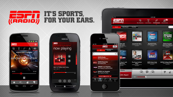ESPN Radio Mobile Apps