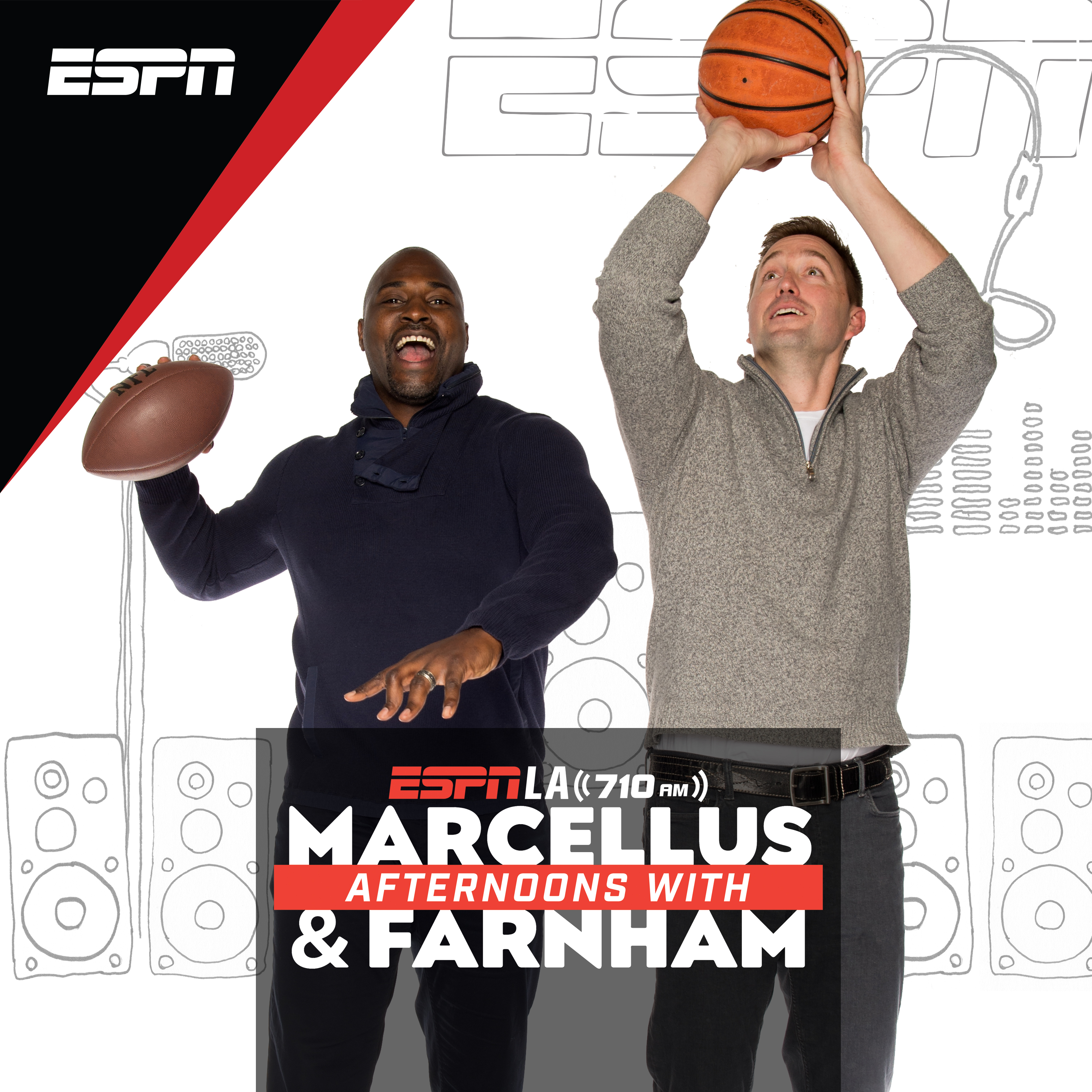 Afternoons on ESPNLA with Marcellus and Farnham