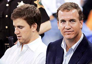 Eli Manning, Peyton