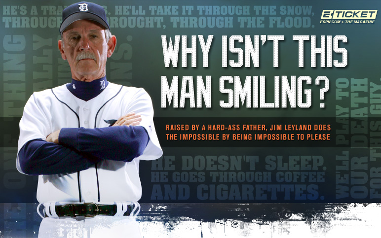 ESPN.com - E-Ticket: Why Isn't This Man Smiling?