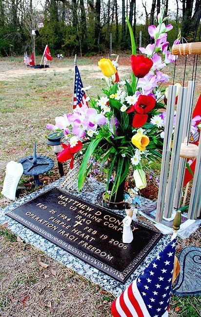 Matthew's grave