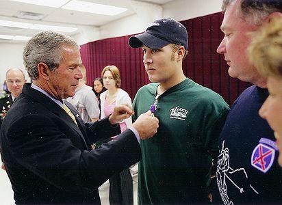 George W. Bush, Jeremiah Homuth