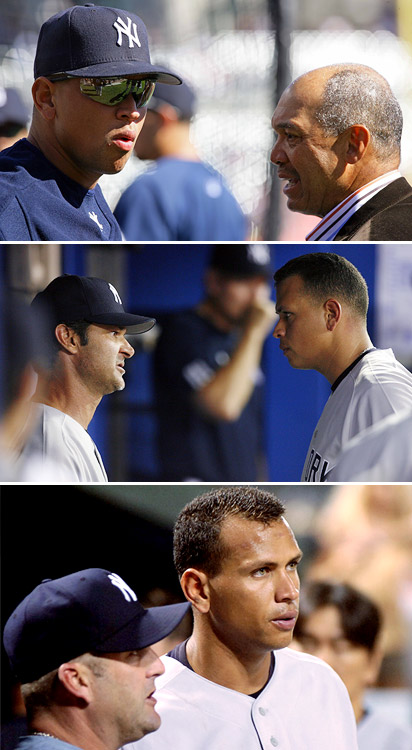 Alex Rodriguez gets coaching