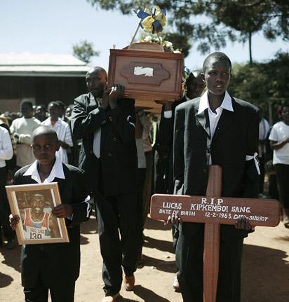Lucas Sang funeral