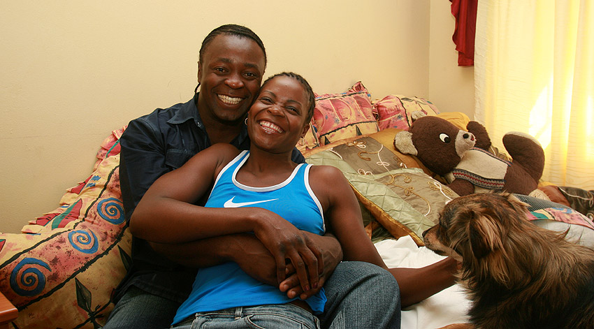 Esther Phiri and fiance