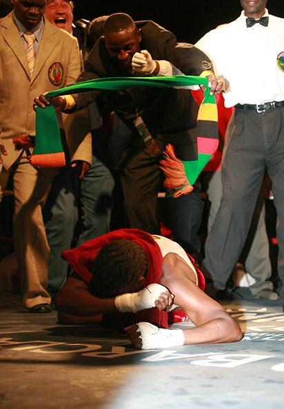 Esther Phiri wins