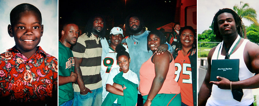 Bryan Pata and family