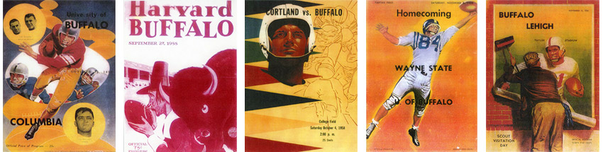 1958 Buffalo programs