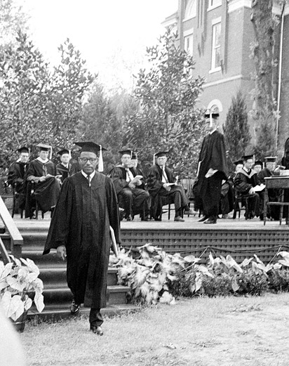 James Meredith graduation
