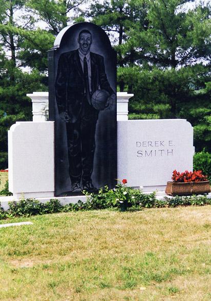 Derek Smith's grave
