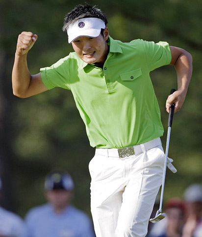 Danny Lee at the Masters