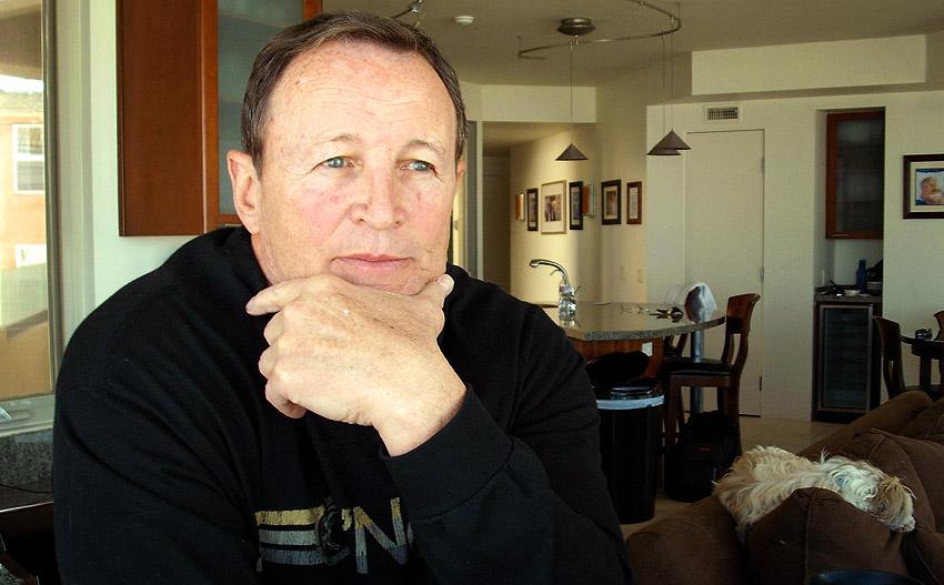 Ed Hochuli at home