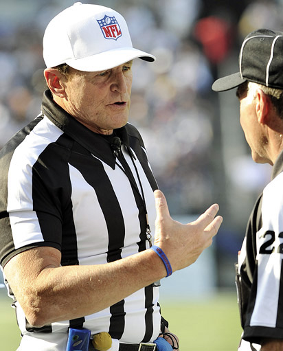 Ed Hochuli in action