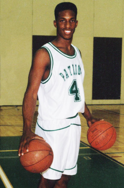 Chauncey Billups in high school