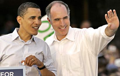 Bob Casey, Obama